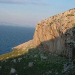 Una Falesia in riva al mare