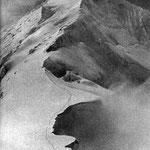 la cresta del Chogolisa da cui precipitò
