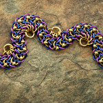 Brass with Violet/Purple