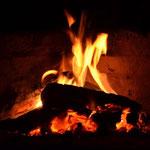 endlich Lagerfeuer