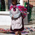 auf dem Markt in Tarabuco
