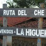 auf den Spuren von Che Guervara