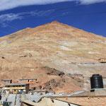 Cerro Rico, der Silberberg von Potosi