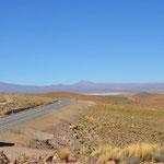 traumhafte Landschaft auf 3500m Höhe