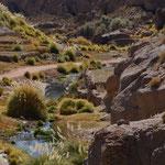 schöne warme Pools bei den Termas de Puritama