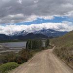 Im Chacabuco Tal auf dem Weg zur Grenze nach Argentinien