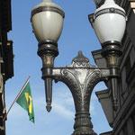 In der Innenstadt von Santos