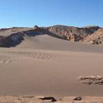 Sanddüne im Valle de Luna