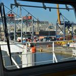 Hafeneinfahrt in Montevideo