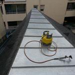 terrasson en zinc sur couverture en ardoise à Pau (64)