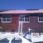 Le dojo des arts à Pau  réfection toiture et facade
