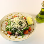 Gemischter Salat mit Käse
