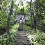 Steps to Zhang San Feng's platform