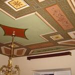 Reconstrucción de un techo del sg.XIX a partir de unos pocos fragmentos
