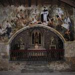 Pintura al fresco en el monasterio de las Madres Trinitarias de Laredo