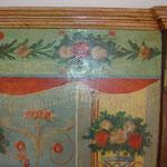 restauración policromía sg. XIX. Su estado era lamentable por haber servido en un gallinero durante décadas.
