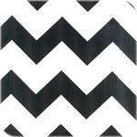 Zigzag zwart wit