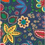 Geplastificeerd - Flowers multicolour