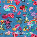 Jersey digitall patches