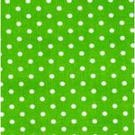Geplastificeerd - Stip lime