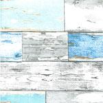 Scrapwood blauw
