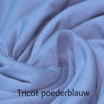 Tricot poederblauw