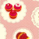 Cupcakes roze