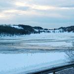 Bild 14-278 -  Lagunen mit Eis und Schnee