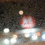 Bild 1-02 - Wie könnte es anders sein? In Bergen  strömeder Regen