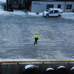 Bild 14-261 - Kalter Empfang in Bodø. Jährliche Durchschnittstemperatur 4.6 Grad