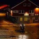 Bild 9-167 - In dieser Nacht - der dritten auf dem Schiff - wird der Polarkreis überquert