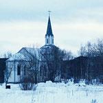 Bild 14-275 - Die Saltstraumen-Kirche ist eine 1904 restaurierte Kreuzkirche von 1886