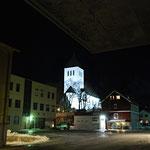 Bild 11-209 - Die markante Kirche von Solvaer