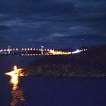 Bild 9-169 - Die grosse Mehrheit der Hurtigruten-Reisenden zieht sich wohl - von solchen Bildern träumend - nach Rorvik - Abfahrt 21.15 - in die Kabine zurück