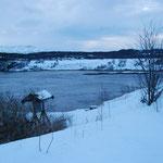 Bild 14-276 - Lediglich bei Stillwasser, also beim Höchst- und Tiefststand, tritt für kurze Zeit - wie hier - Ruhe ein