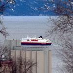 Bild 5-97 - Die Nordlys verlässt den Hafen, südwärts