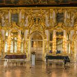 im Katharinenpalast in Puschkin