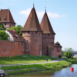 an der Marienburg in Malbork