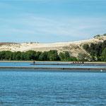 Blick auf die Große Düne bei Nida