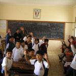 Klassenzimmer Schule Sucre