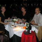 Sushi-Abschiedsessen mit Caroline und Matias