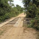 eine der noch gut erhaltenen von 125 Brücken bis Porto San Jofre