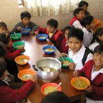 Schule Mittagessen