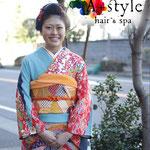 アプラススタイル 成人式 新日本髪スタイル