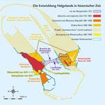 Helgoland - Felsen der Weltgeschichte: Entwicklung in historischer Zeit