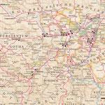 Goethe-Atlas: Fürstentum Weimar-Eisenach