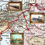 "Motel One Wien: Ausschnitt aus ""Orient Express"""