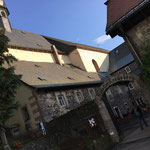 Die Klostergaststätte der Franziskaner wo es das gute Klosterbier gibt.