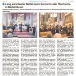 Bericht im Mitteilungsblatt Ausgabe 2/2020.