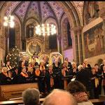 Kath. Kirchenchor beim Weihnachtskonzert 2019.